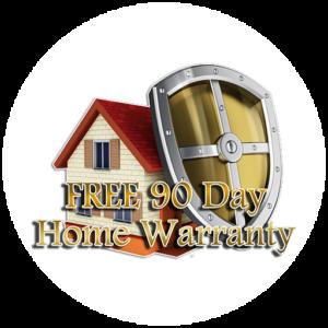 free 90 day warranty